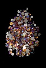 Diamond Mix Brown/Purple