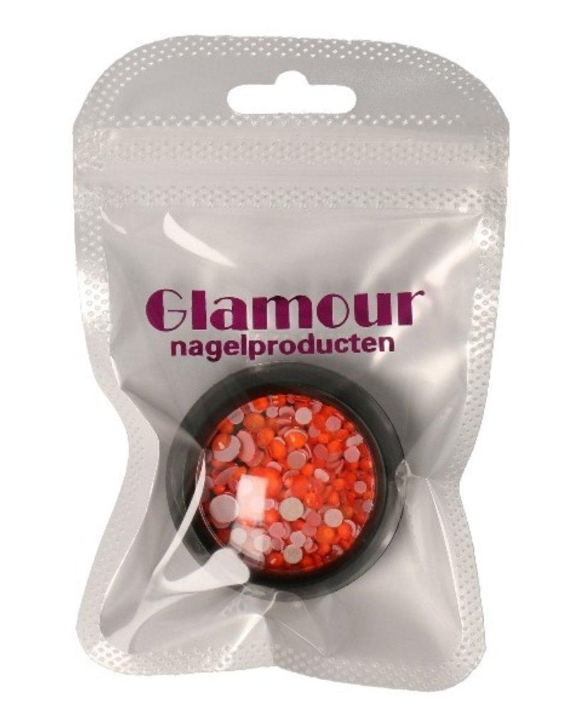 Diamond Mix Neon Orange