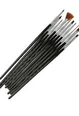 Penselen Set Zwart 10pcs
