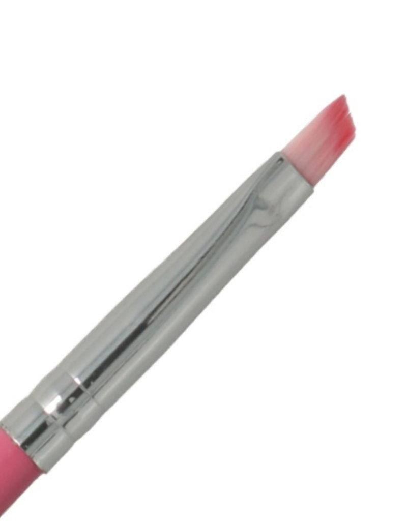 Gel Brush Slanted Pink NR 6