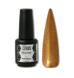Gel On Soft Glitter Jewel Gold