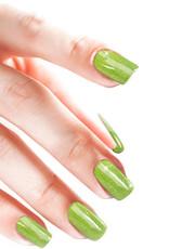 Gel On Glitter Lime Fizz
