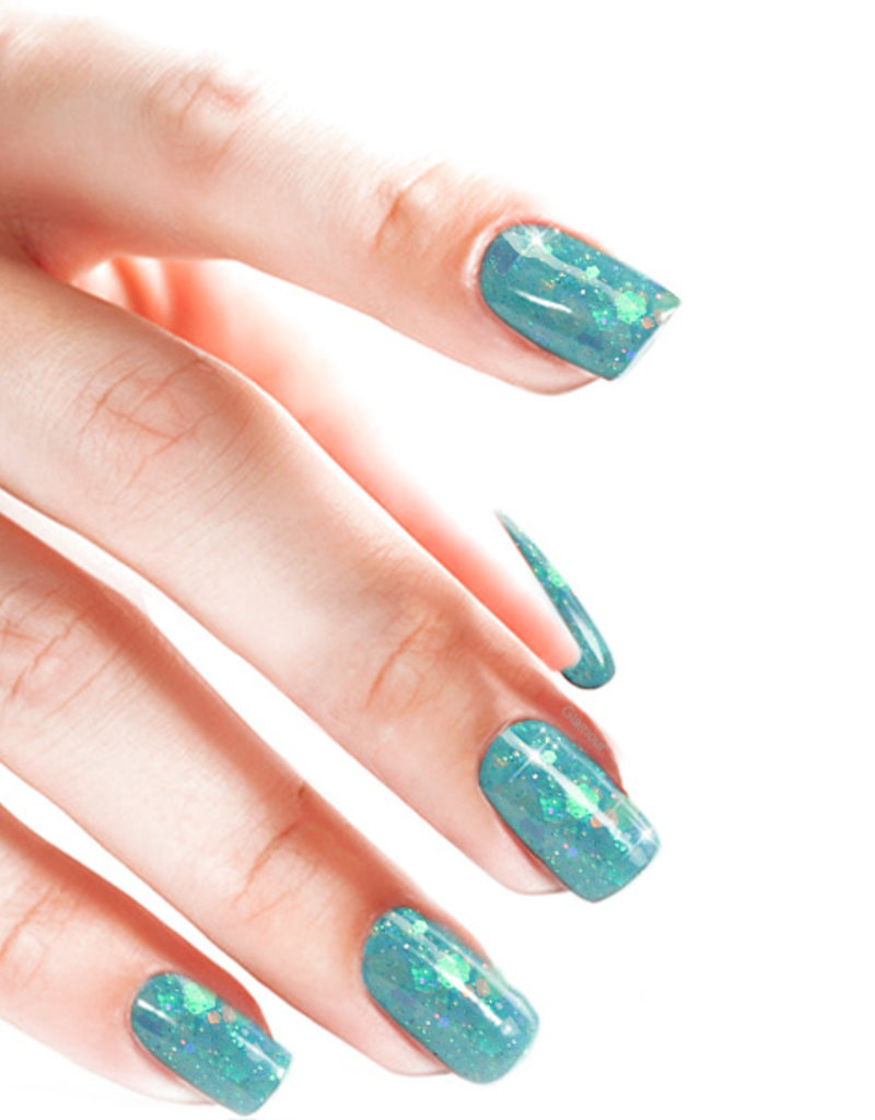 Acrylpoeder Glitter Candy Coated Ocean View