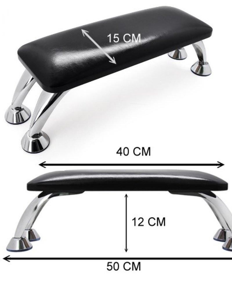 Armrest Black Chrome