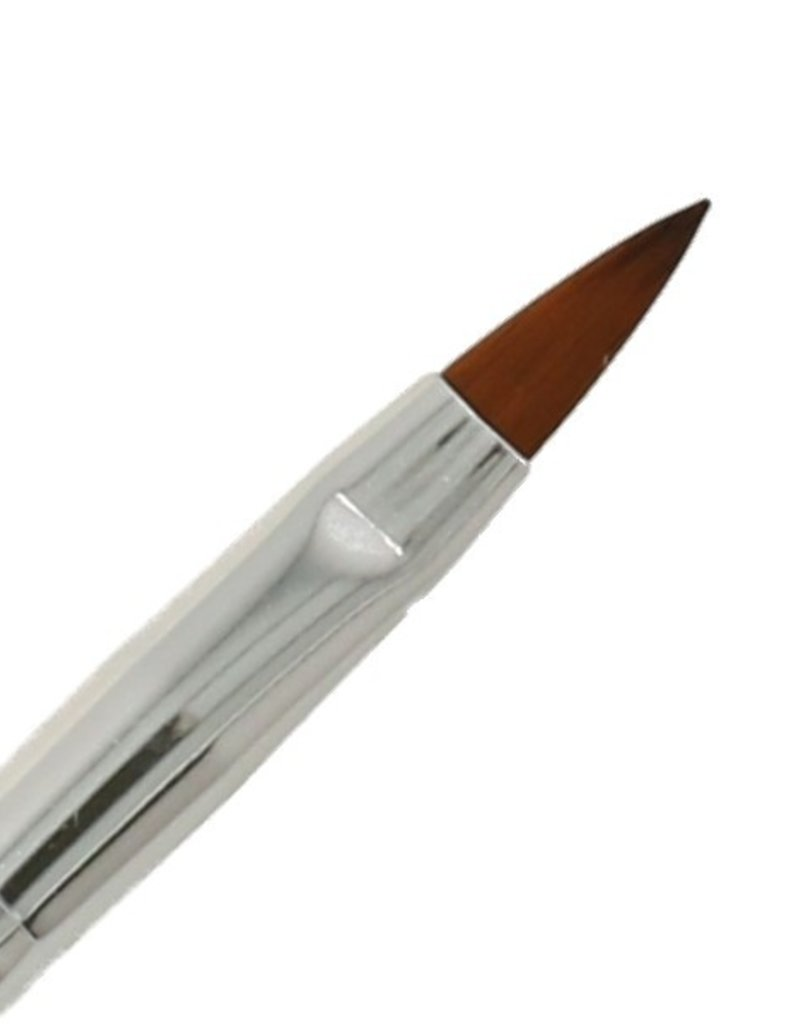 Acrylic Brush NR 6 Rosegold