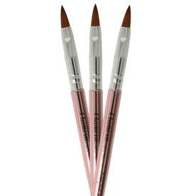 Acrylic Brush NR 8 Rosegold