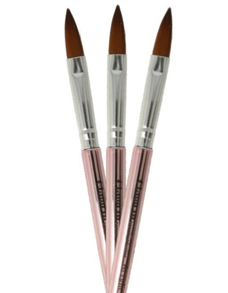 Acryl Brush NR 12 Rosegold