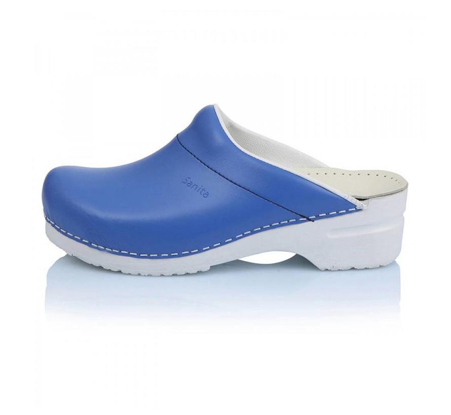 Sanita klompen Flex blauw model 314