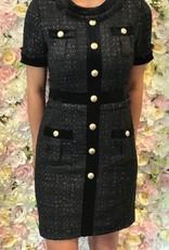 Looking B zwart jurk