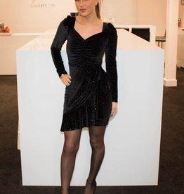Velvet glitter dress