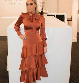 Inspired zm dress long