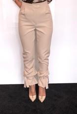 Pantalon met strik