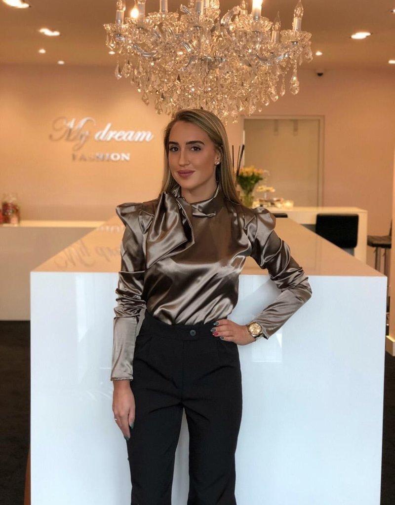 Bronze  blouse strik