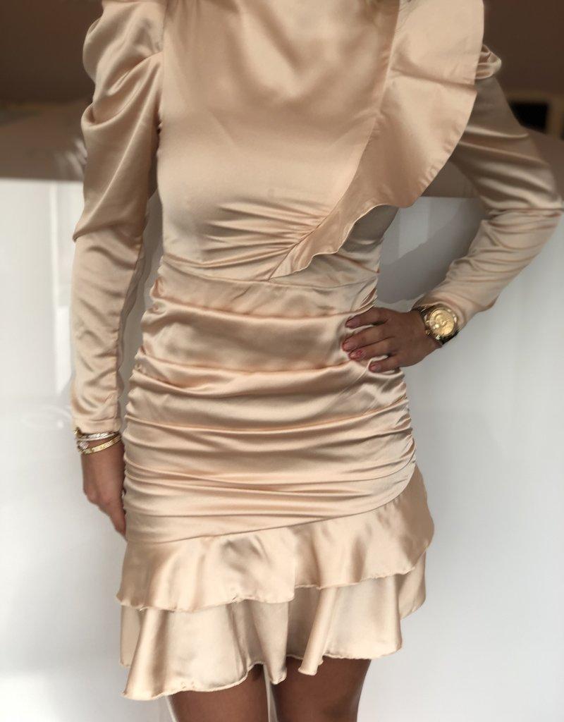 Allyson jurk creme