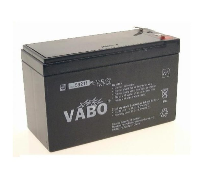 Vabo PM 12V 7AH Lead Acid