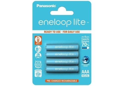 Panasonic Eneloop Panasonic Eneloop Lite BK-4LCCE AAA 550mAh Blister 4
