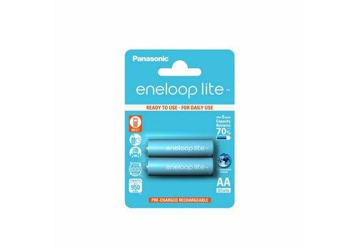Panasonic Eneloop Panasonic Eneloop Lite BK-3LCCE AA 950mAh Blister 2