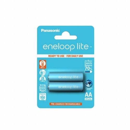 Panasonic Eneloop Lite BK-3LCCE AA 950mAh Blister 2