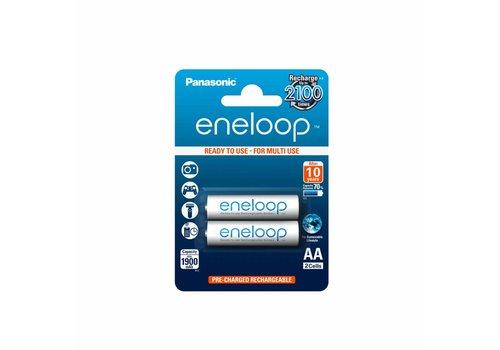 Panasonic Eneloop Panasonic Eneloop BK-3MCCE AA 1900mAh Blister 2
