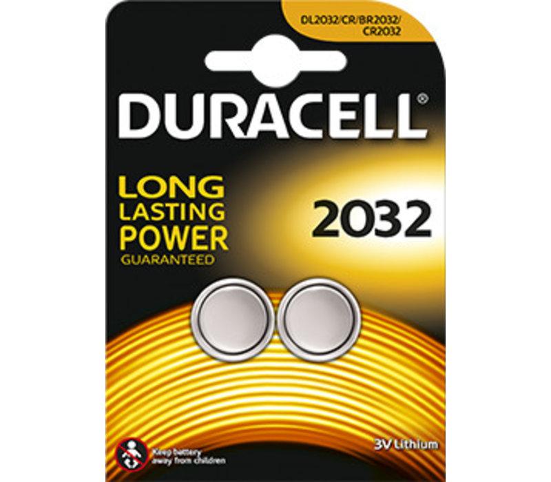 Duracell DL2032 Lithium 3V Blister 2