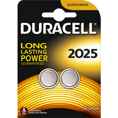 Duracell DL2025 Lithium 3V Blister 2