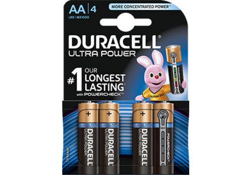 Duracell Duracell MX1500 AA LR06 1,5V Ultra Power Blister 4