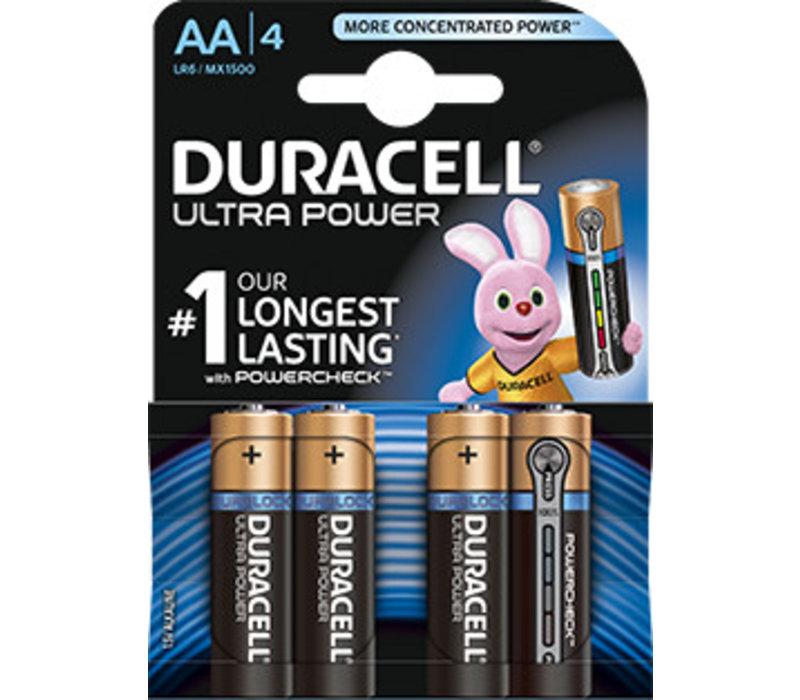 Duracell MX1500 AA LR06 1,5V Ultra Power Blister 4