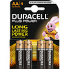 Duracell Duracell MN1500 AA LR06 1,5V Plus Power Blister 4