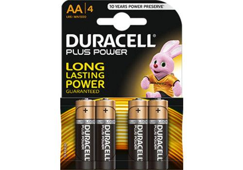 Duracell Duracell MN1500 AA LR06 1,5V Plus Power Blister 4