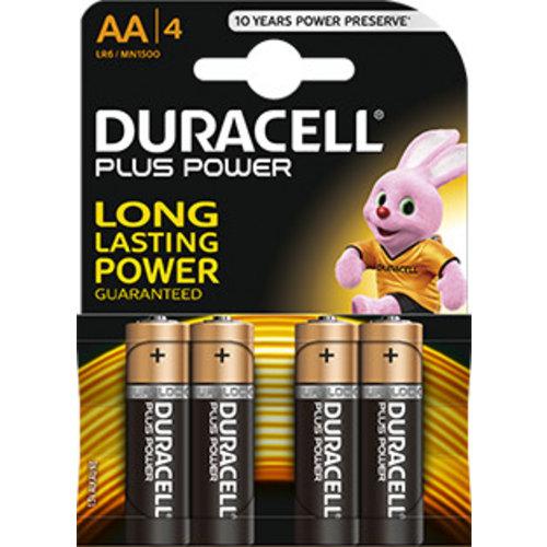 Duracell MN1500 AA LR06 1,5V Plus Power Blister 4