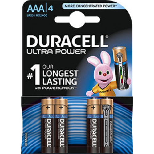 Duracell MX2400 AAA LR03 1,5V Ultra Power Blister 4