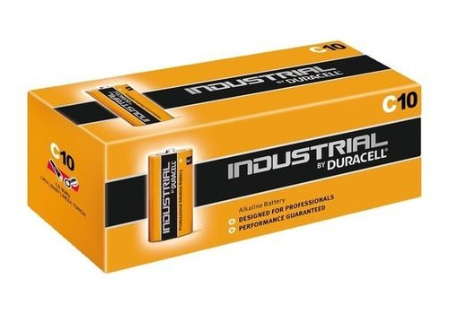 Duracell Duracell Industrial Alkaline MN1400 C LR14 1,5V 10 Pack