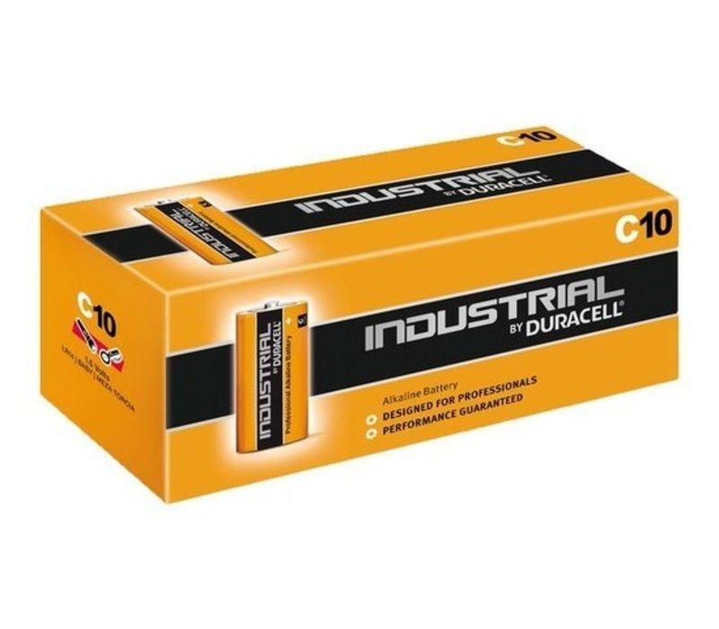 Duracell Industrial Alkaline MN1400 C LR14 1,5V 10 Pack