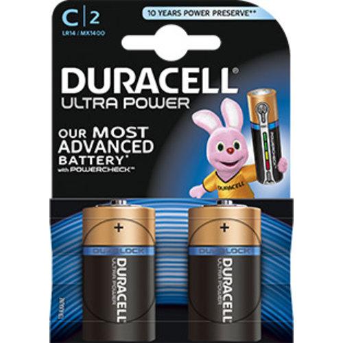 Duracell MX1400 C LR14 1,5V Ultra Power Blister 2