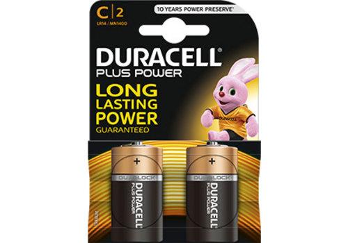 Duracell Duracell MN1400 C LR14 1,5V Plus Power Blister 2