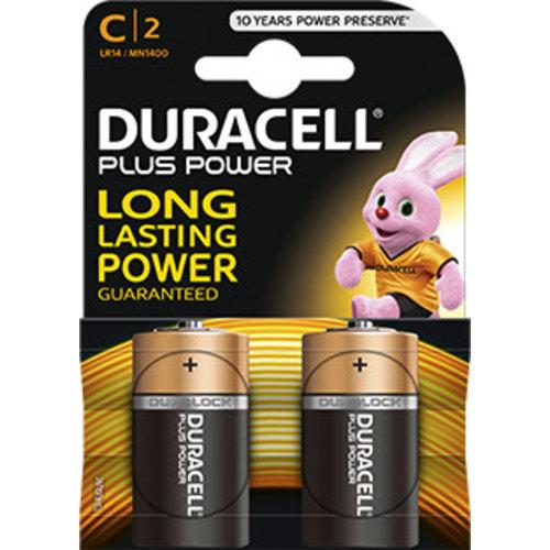 Duracell MN1400 C LR14 1,5V Plus Power Blister 2