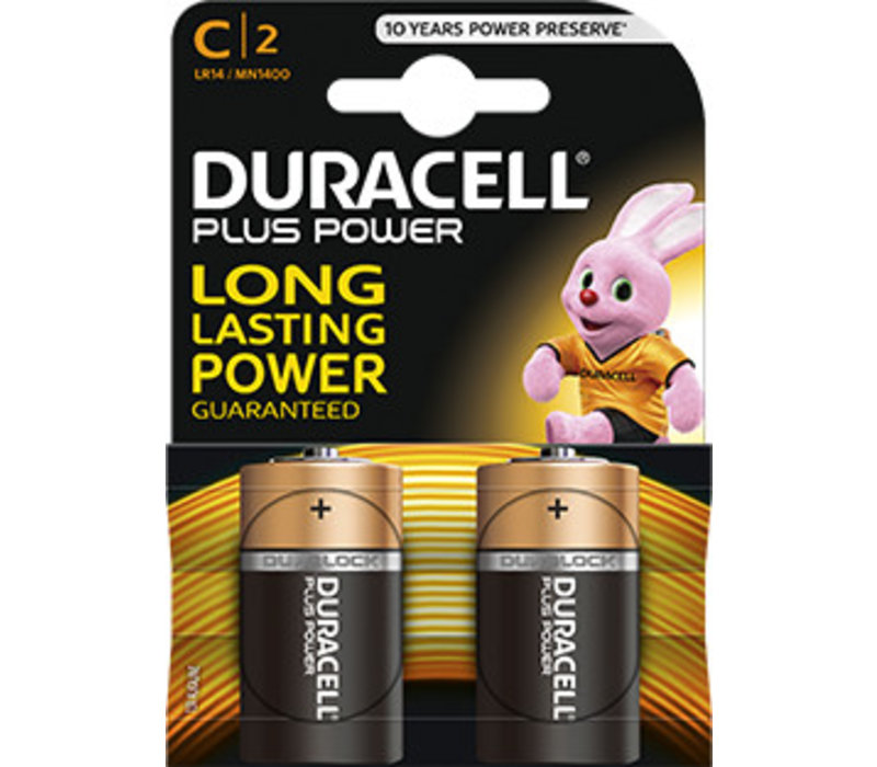 Duracell MN1400 C LR14 1,5V Plus Power Blister 2