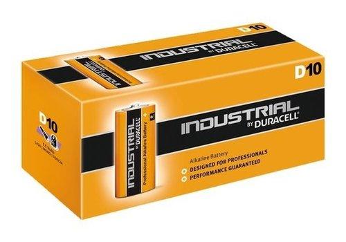 Duracell Duracell Industrial Alkaline MN1300 D LR20 1,5V 10 Pack