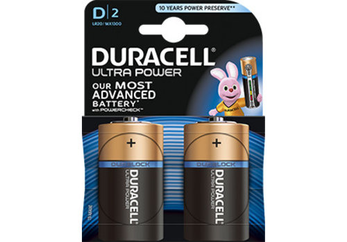 Duracell Duracell MX1300 D LR20 1,5V Ultra Power Blister 2