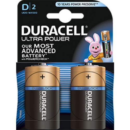 Duracell MX1300 D LR20 1,5V Ultra Power Blister 2