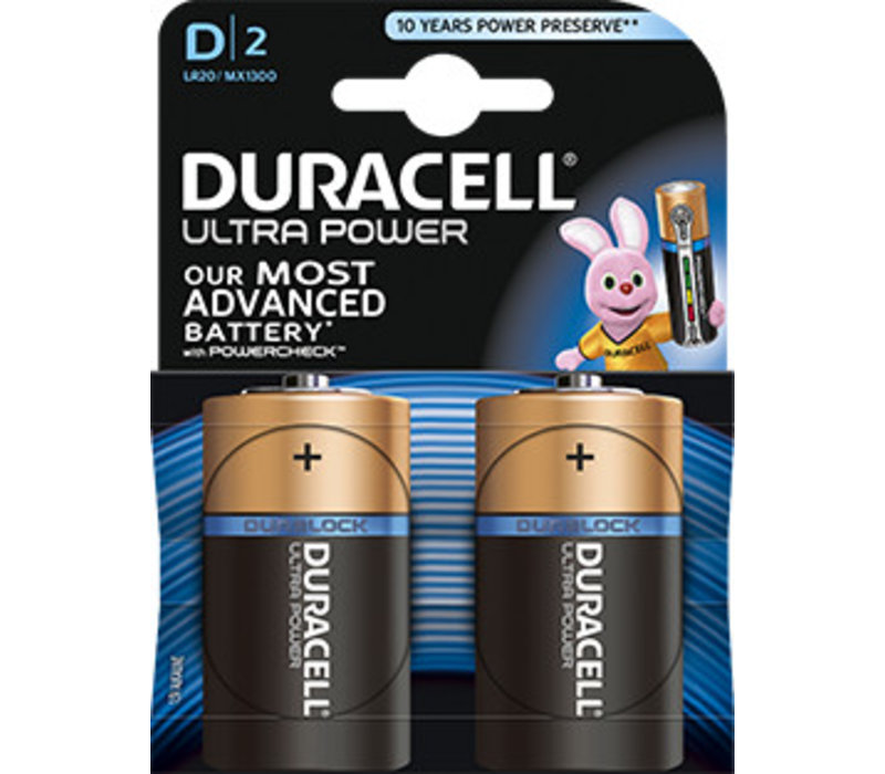 Duracell MX1300 D LR20 1,5V Ultra Power Blister 2