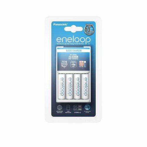 Panasonic Eneloop Charger BQ-CC51 + 4 x AA 1900mAh