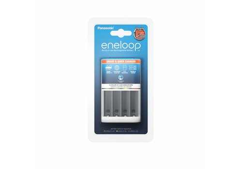 Panasonic Eneloop Panasonic Eneloop Smart & Quick Charger BQ-CC55