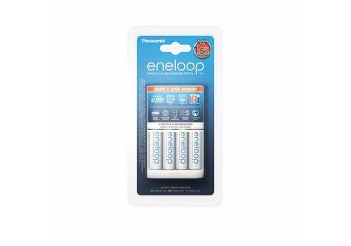 Panasonic Eneloop Panasonic Eneloop Smart & Quick Charger BQ-CC55 + 4 x AA 1900mAh