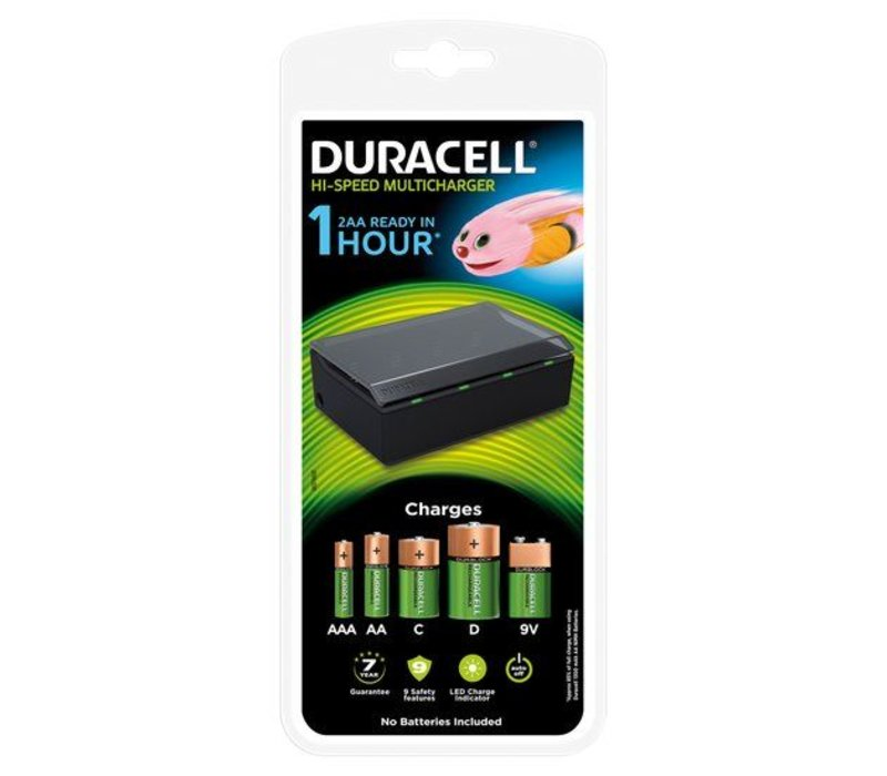 Duracell Charger CEF22 Multi