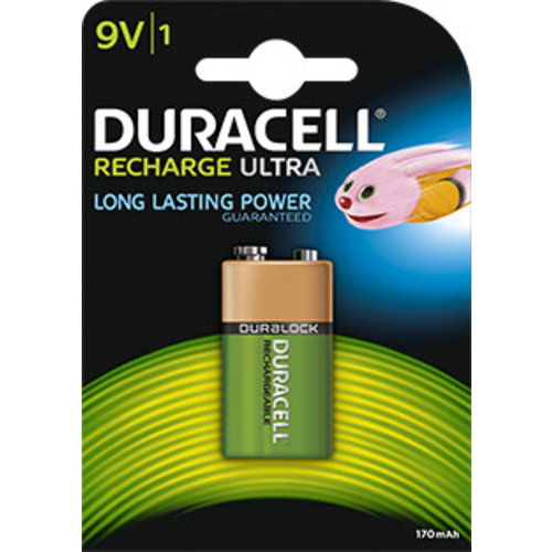 Duracell Accu 9V HR22 170mAh Blister 1