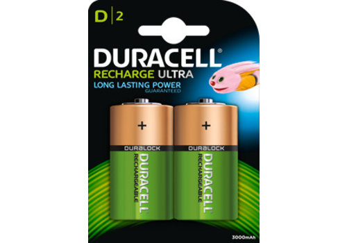 Duracell Duracell Accu D HR20 3000mAh Blister 2
