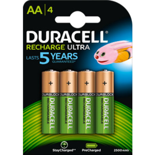 Duracell Accu AA HR06 2500mAh Precharged Blister 4