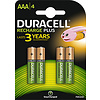 Duracell Duracell Accu AAA HR03 900mAh Precharged Blister 4
