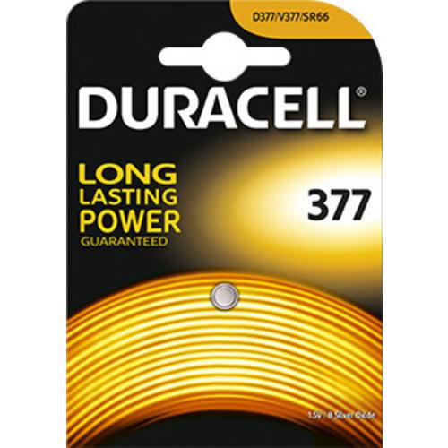 Duracell D377 SR626SW Silveroxid 1,55V Blister 1